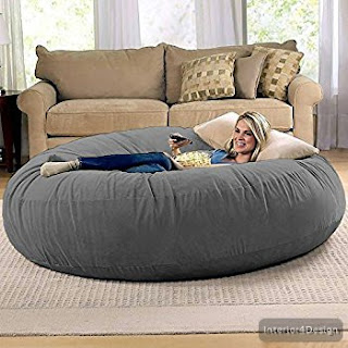 Giant Bean Bag Chair Lounger 1