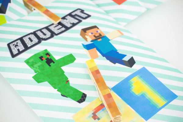 DIY Minecraft Adventskalender