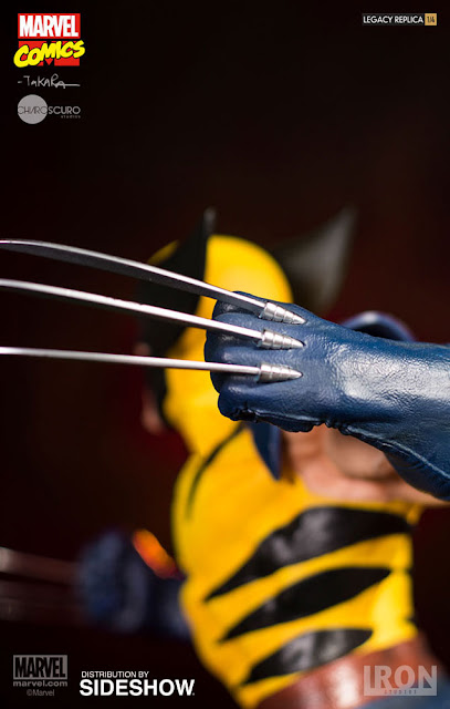 osw.zone Iron Studios 1/4 scale Wolverine 18-inch tall statue - Wolverine goes berserker rage!
