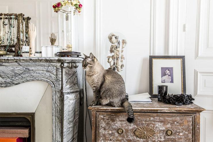 appartement parisien bohème