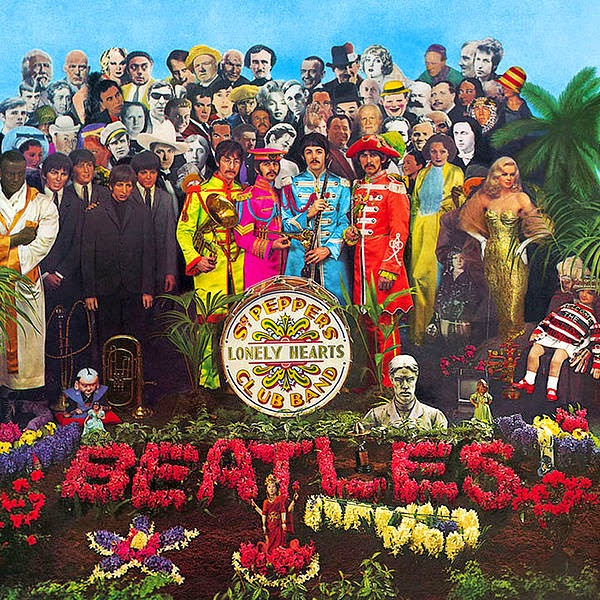 альбом beatles Sgt. Pepper's Lonely Hearts Club Band