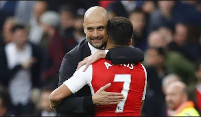 Alexis Sanchez Di Jual Ke Manchester City Dengan Harga 50 Juta Pounds