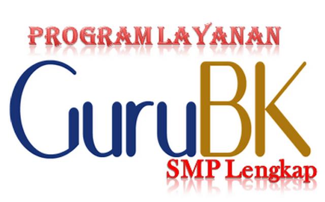 Program Layanan Guru BK SMP Lengkap