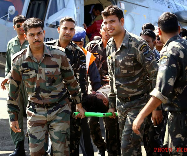 Mission Rescue: Armed Forces on Rescue Operation