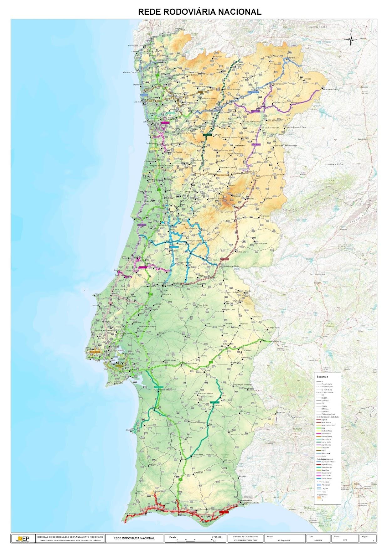 Estradas De Portugal Skyscrapercity