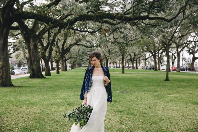 tin can photography bridal portrait in savannah