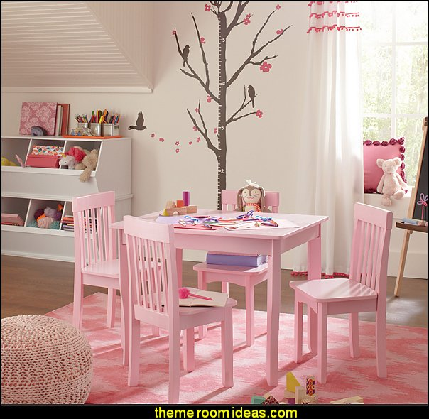 pretty in pink playrooms for girls