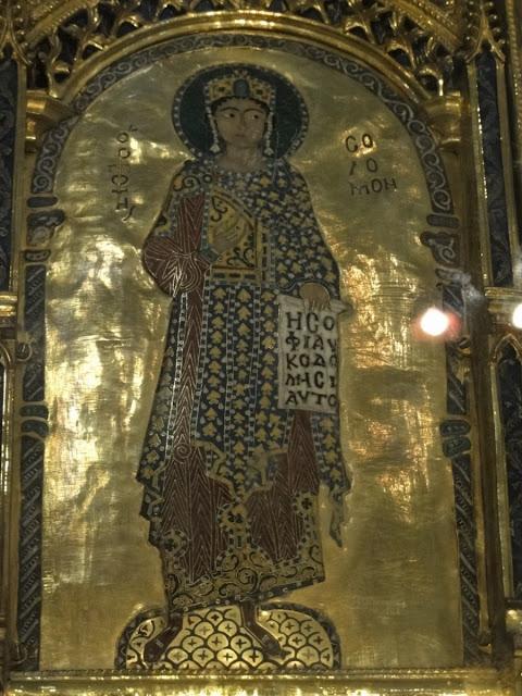 Ο προφήτης Σολομών, Pala d' Oro