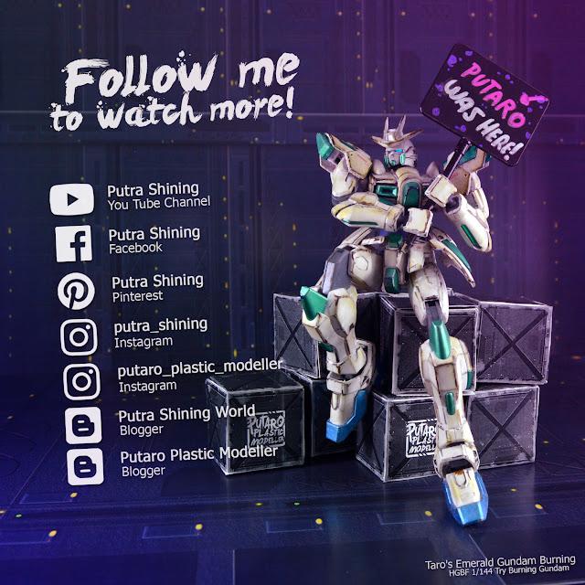 HGBF Try Burning Gundam Custom Paint by Putra Shining