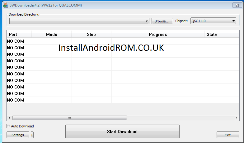 Download Qualcomm SW Downloader (All Versions)