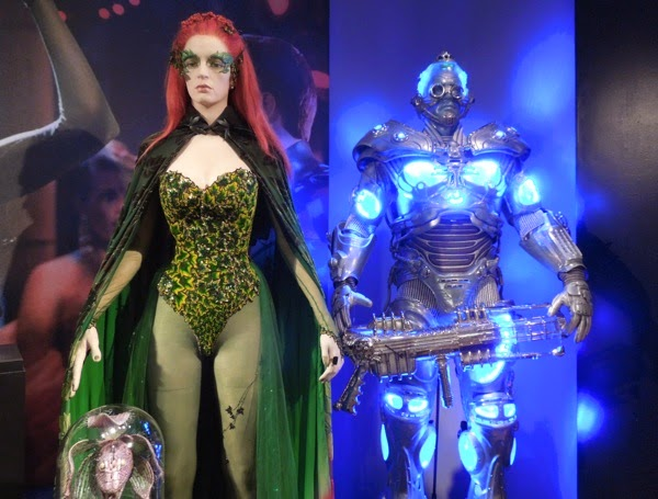 Poison Ivy Mr Freeze Batman Robin movie costumes
