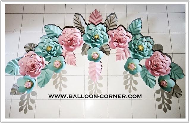 Paper Flower / Bunga Kertas (Paket B)