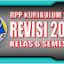 Unduh RPP Kelas 6 Kurikulum 2013 Revisi 2018 untuk Semester 1