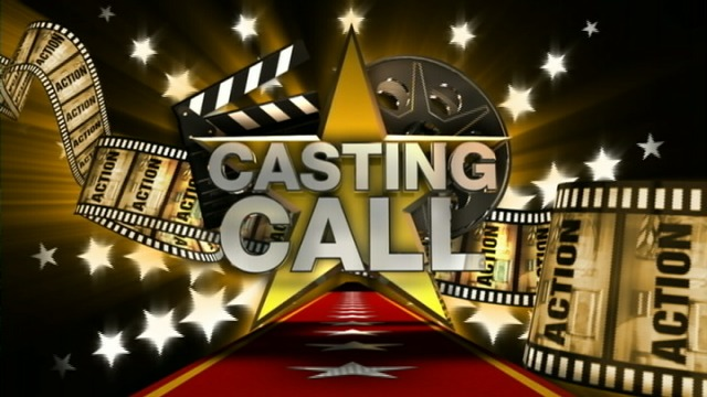 A banner of Casting call