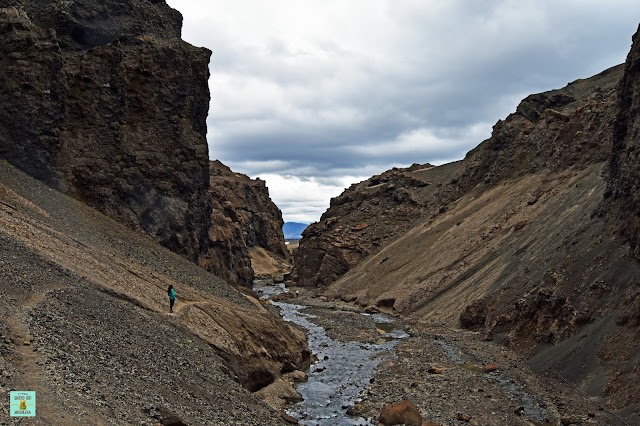 Cañón Drekagil, Islandia