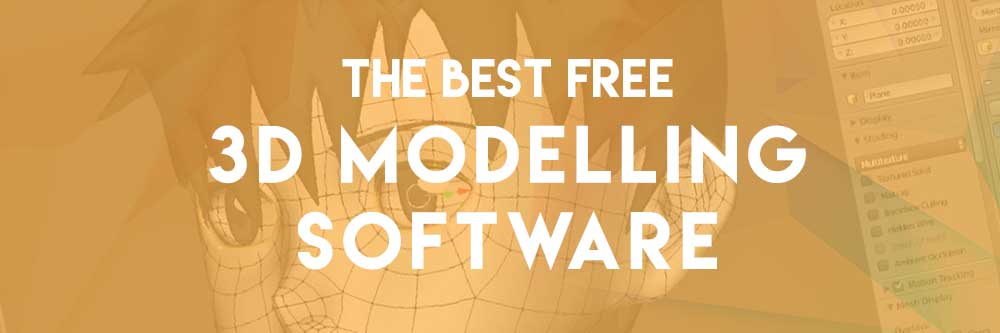 best free 3d modelling software