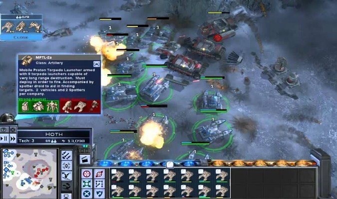 Game RTS PC - Star Wras: Empire at War