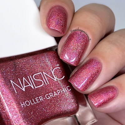 nails inc molten my day holler-graphic collection