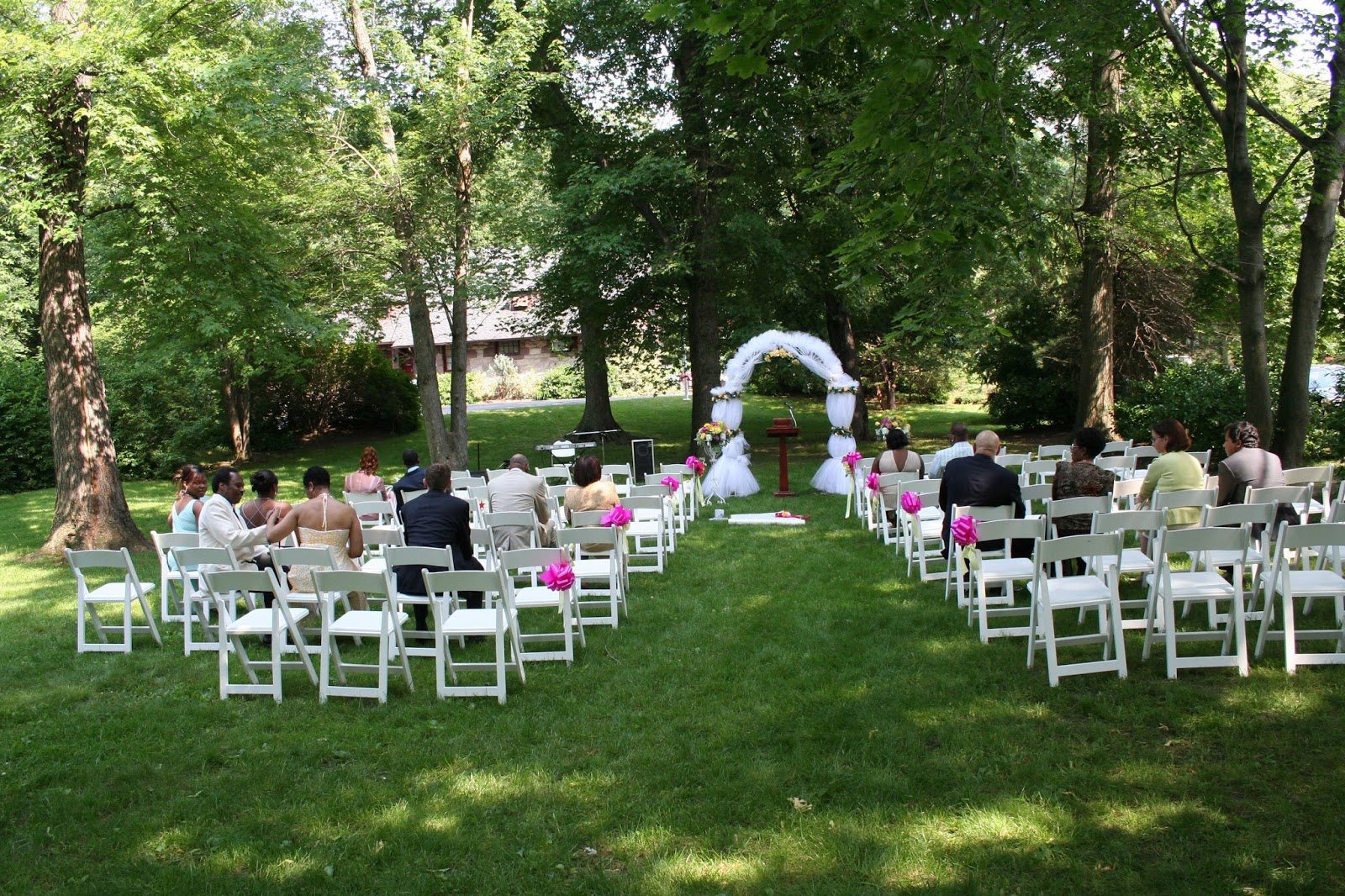 great inexpensive outdoor wedding venues small outdoor affordable nj nyc wedding ceremony photos2