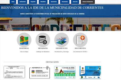 http://gis.ciudaddecorrientes.gob.ar/