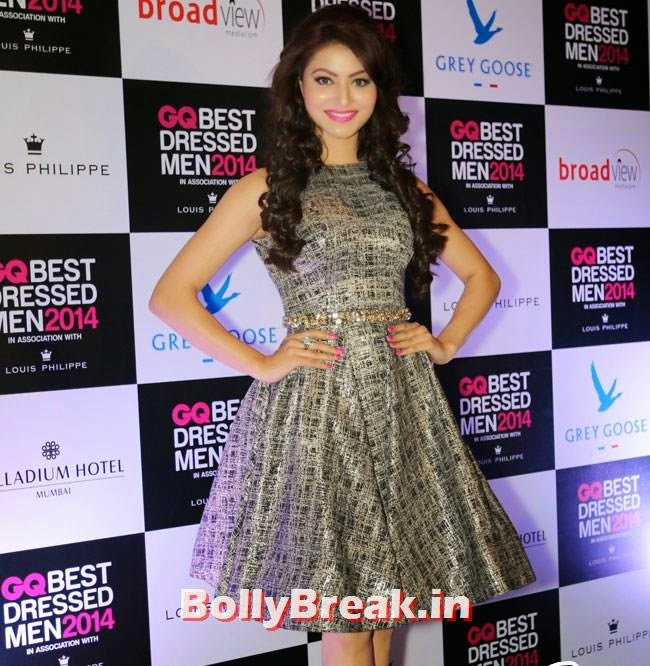 Urvashi Rautela, Evelyn, Kim, Nargis Sizzle at GQ Best Dressed Men 2014 Awards