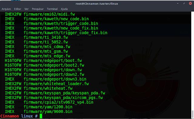 Compilando Kernel