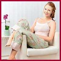 Pantalones de pijama patrón