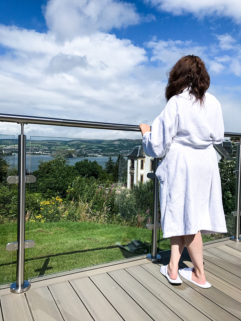 Spa Day Gleddoch Hotel Afternoon Tea Review Glasgow | Colours and Carousels - Scottish Lifestyle, Beauty and Fashion blog