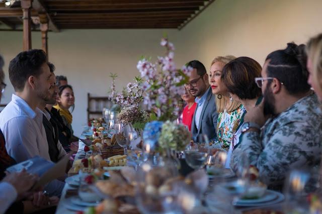 Carmen Lomana mantiene una jornada networking con las firmas de Isla Bonita Moda
