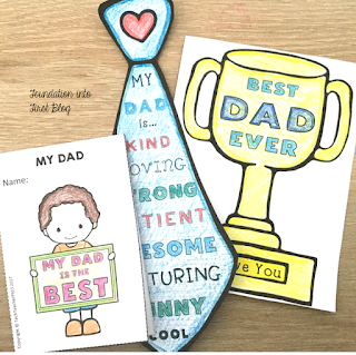 How do you celebrate Father's Day when dad isn't around any more? Young students that may have lost a father through separation or death, struggle with this special day each year. Here are some tips for how to make this an inclusive day for all students.