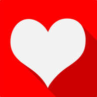 heart shadow icon