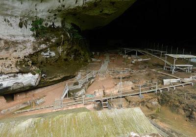Caverna Niah  – Malásia