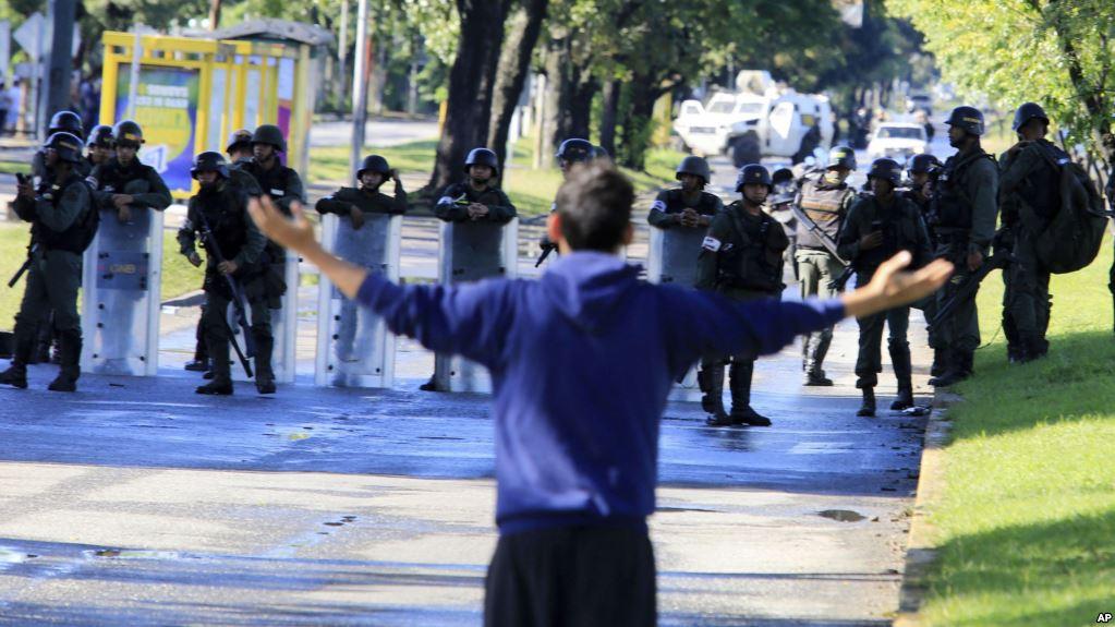La resistencia en Venezuela ahora es totalmente ciudadana sin partidos opositores