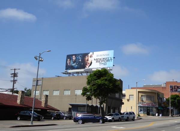 Minority Report TV series billboard