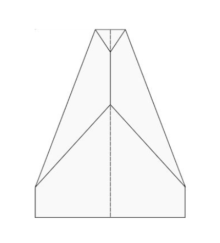 photo regarding Paper Airplane Template Printable titled The Least difficult Paper Plane