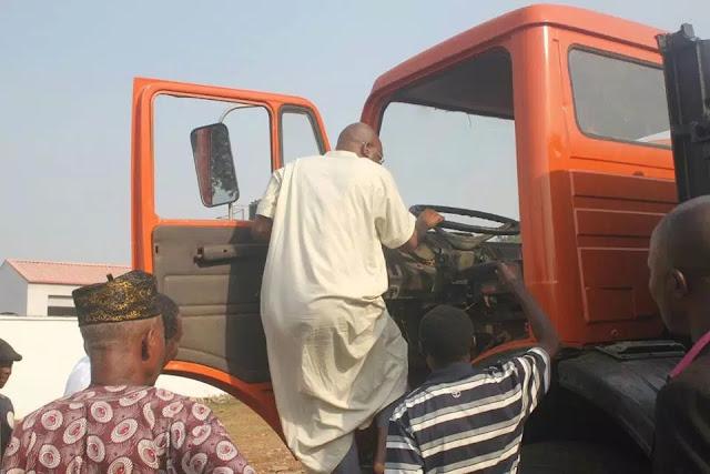Fayose: I drove trucks before I became governor