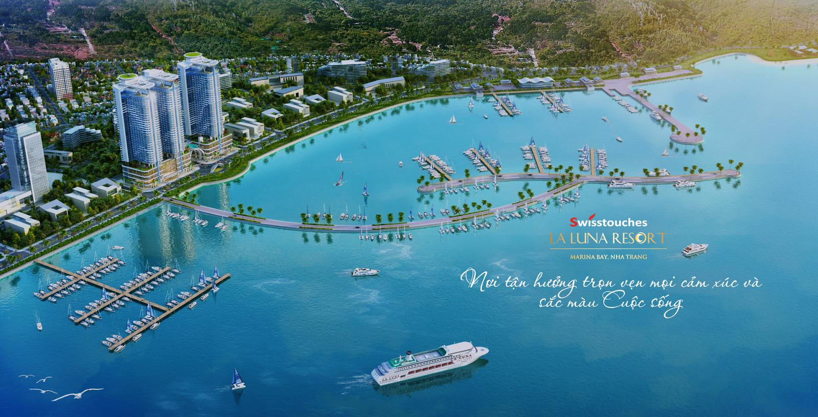 Phối cảnh dự án La Luna Resort Nha Trang