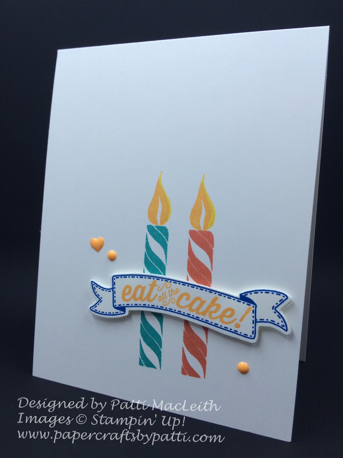 papercrafts by patti colorful happy birthday banner