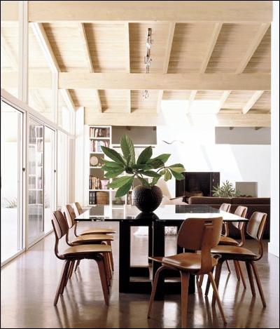 mid century dining room design ideas simple home architecture design. Black Bedroom Furniture Sets. Home Design Ideas