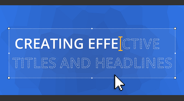 Writing Effective Headlines - Infographic