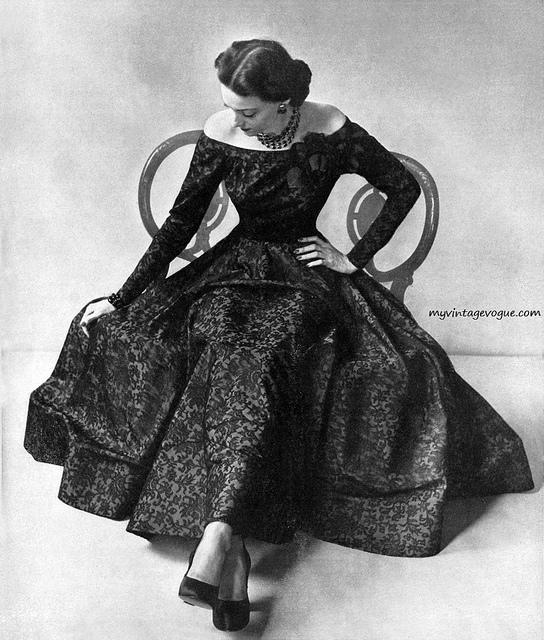 Black And White Vintage Photos Of 1940 S Fashion Vintage