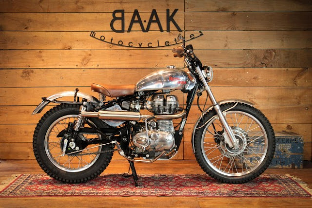 BAAK Motorcyclettes Royal Enfield Trail 1960