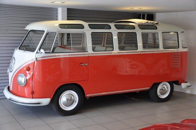 1961 Volkswagen Samba Bus T1 Vw Bus