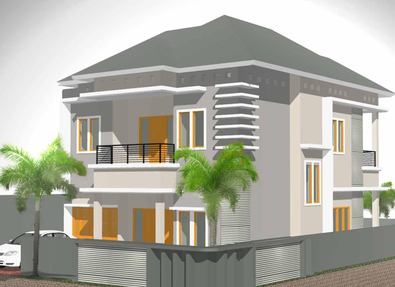 Desain Rumah Asri Elegan Info Lowongan Kerja ID