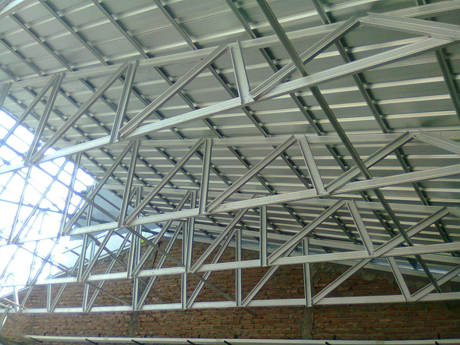 kanopi baja ringan di malang jasa pemasangan rangka atap - kios ...