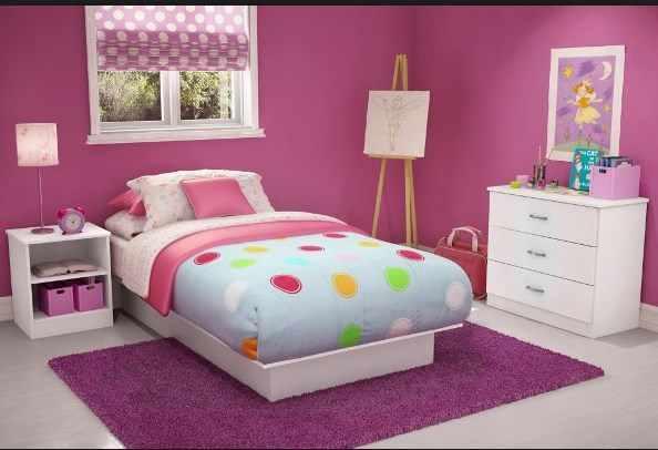 Cara Menghias Bilik Tidur Anak Perempuan