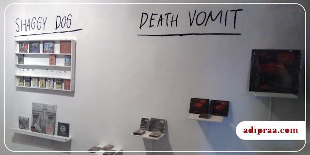 Pameran Rilisan Shaggy Dog dan Death Vomit | adipraa.com