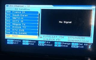 Cara membuat Chanel yang belum ada dalam receiver untuk Tracking