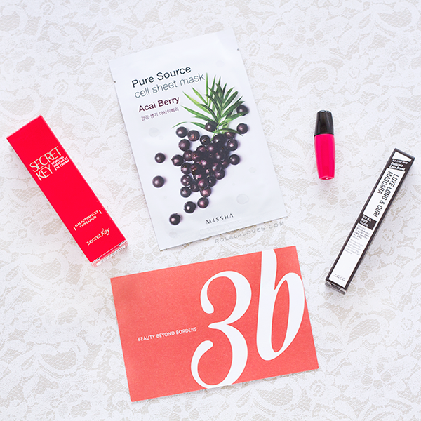 3B Beauty Box, 3B Asian Beauty, 3B Subscription Service