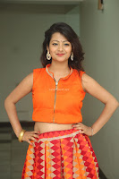 Shubhangi Bant in Orange Lehenga Choli Stunning Beauty ~  Exclusive Celebrities Galleries 068.JPG